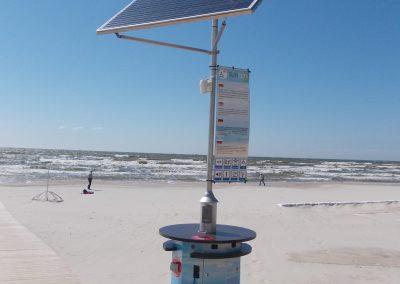 Viešųjų paslaugų stotelė I-osios Smiltynės paplūdimyje
