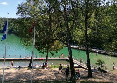 Vilniaus Balsio ežero paplūdimys