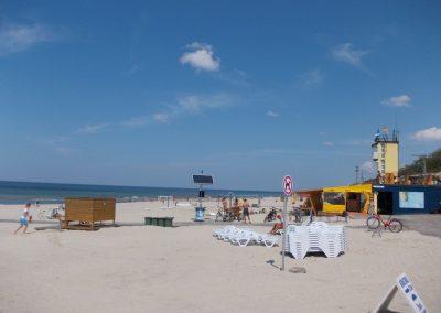I Smiltynės paplūdimys